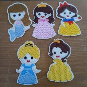Disney Princess patch lot of 5